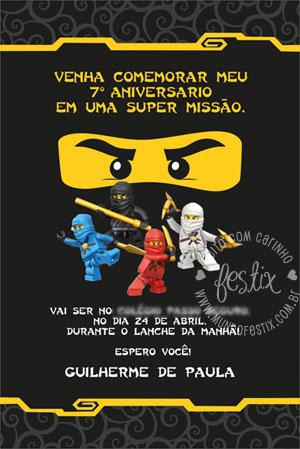 Festa Na Escola Ninjago Mundo Festix