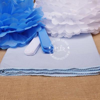 Categoria: Baby e Batizado Temas: Ursinho e Anjinho (azul)