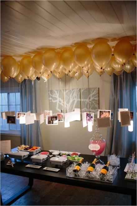 Balões, fotos e super decor!