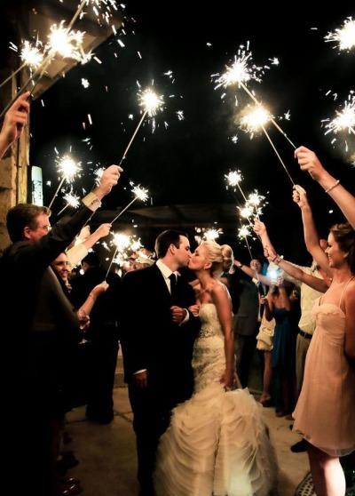 Viva os noivos!