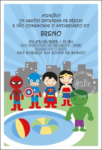 Convite (impresso e virtual)