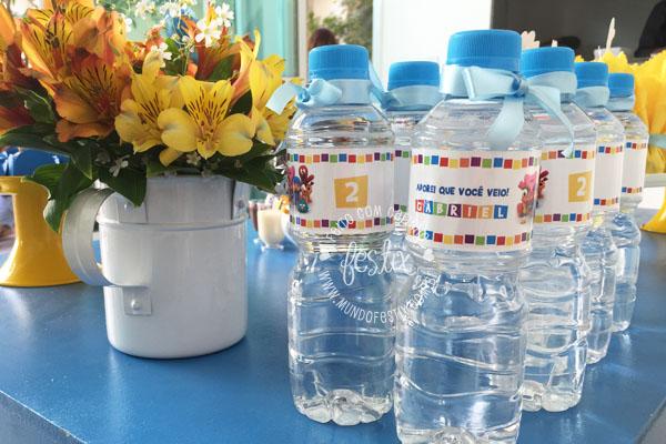 Rótulo de água